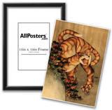 Katsushika Hokusai Tiger in the Rain Art Poster Print Prints