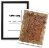 Masters of the Book of Kells (Book of Kells, Christus monogram, initials) Art Poster Prints