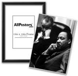 Martin Luther King Jr (With President Lyndon B Johnson) Art Poster Print Photo