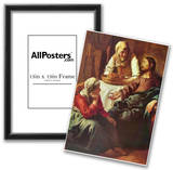 Jan Vermeer van Delft (Christ with Mary and Martha) Art Poster Print Posters