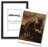 John Trumbull (The Declaration of Independence, detail) Art Poster Print Prints
