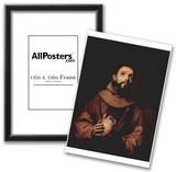 Jose de Ribera (St. Francis of Assisi) Art Poster Print Prints