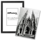 New York City St Patrick's Cathedral Archival Photo Poster Print Prints