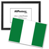 Nigeria National Flag Poster Print Prints