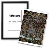 MICHELANGELO Last Judgement ART POSTER Fresco PRINT Poster