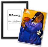 Paul Gauguin Woman with Mango Art Print Poster Photo