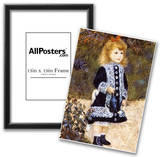 Pierre Auguste Renoir Girl with the Watering Can Art Print Poster Print