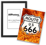 Route 666 Highway to Hell Poster Print Posters