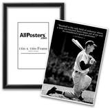 Ted Williams Baseball Famous Quote Archival Photo Poster Photo