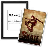 Skateboarding Skate Sketch Sports Poster Print Prints