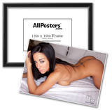 Shauna Gardner Nude In Bed Photograph Poster Print by Mario Brown Poster