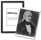 President James K Polk (Portrait) Art Poster Print Prints