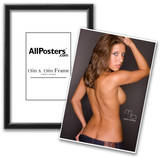 Sol Reyes Topless Photograph Poster Print by Mario Brown Posters