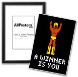 A Winner Is You Video Game Poster Posters