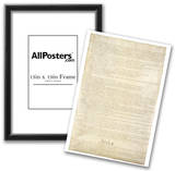 U.S. Constitution Page 2 Art Poster Print Print