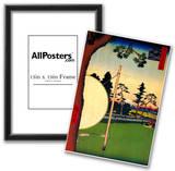 Utagawa Hiroshige Takata Riding Grounds Art Print Poster Poster