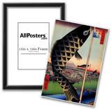 Utagawa Hiroshige Suido Bridge and Surugadai Art Print Poster Prints