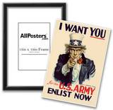 Uncle Sam I Want You for U.S. Army WWII War Propaganda Art Print Poster Prints