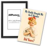 E-Reader Retro Advertising Prints