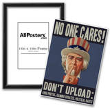 No One Cares! Social Networking Posters