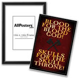 Blood For The Blood God Posters