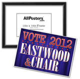 Eastwood and Chair 2012 Poster
