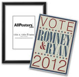 Vote Romney & Ryan 2012 Poster