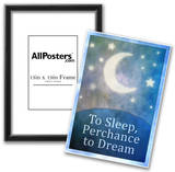 To Sleep Perchance To Dream Art Poster Print Posters