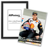 Bryan Herta Indycar Archival Photo Poster Print