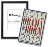Vote Obama & Biden 2012 Prints