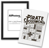 Pirate Crossword Posters