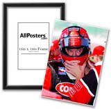 Al Unser Jr. Kansas Speedway Archival Photo Poster Posters