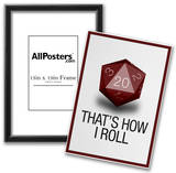 That's How I Roll - 20 Sided Die Photo
