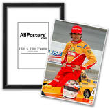 Raul Boesel Indycar Archival Photo Poster Photo