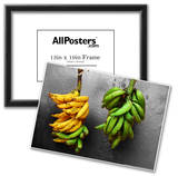 Yellow and Green Bananas Prints