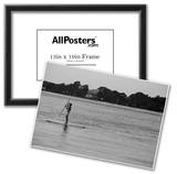 Surfer Paddling Shelter Island NY Posters