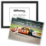 Darrell Waltrip Archival Photo Poster Photo