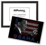 Obama America the Beautiful Lyrics Poster Prints