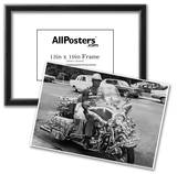 Custom Vintage Chopper Motorcycle Archival Photo Poster Prints