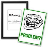 Problem Rage Comic Meme Poster Posters