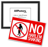 No Harlem Shaking Poster