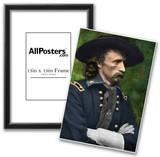 George Armstrong Custer Colorized Archival Photo Poster Photo