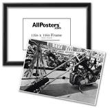Chopper Motorcyle Archival Photo Poster Prints