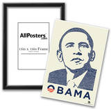 Obama Yes We Can Speech Text Poster Prints