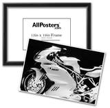 Ducati Vintage Motorcycle Archival Photo Poster Photo