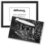 Hindenburg passing New York Archival Photo Poster Poster