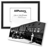 Troop Sleeper Box Car Military Train 1943 Archival Photo Poster Photo