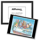 Alice in Wonderland Text Poster Posters