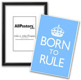 Born To Rule - Blue Baby's Room Poster Photo