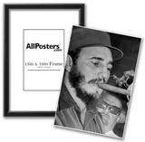Fidel Castro Smoking Cigar Archival Photo Poster Prints